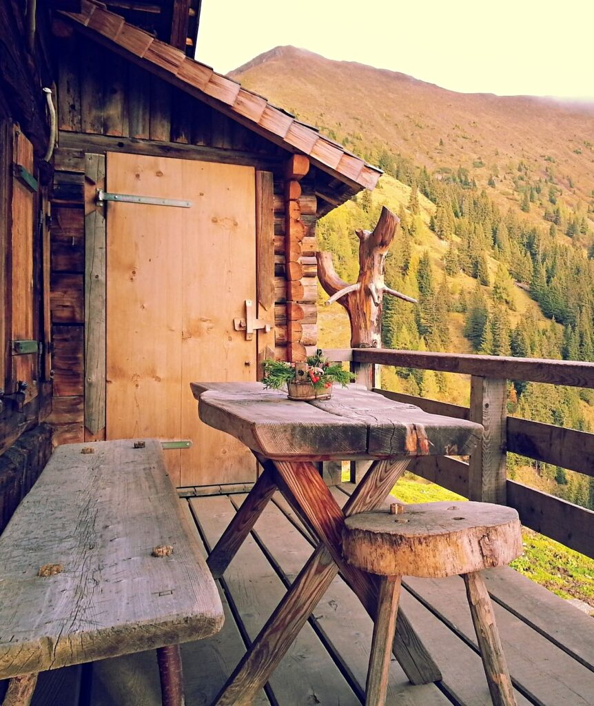 Mountain Balcony with an Amazing View