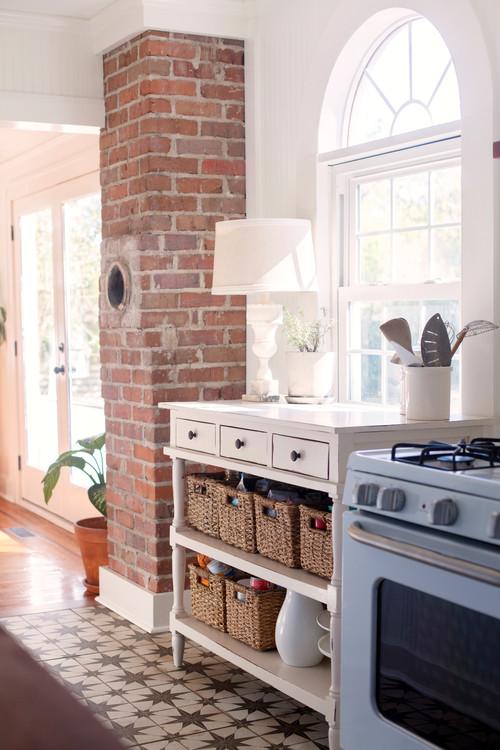 Details of a South Carolina Cottage Kitchen