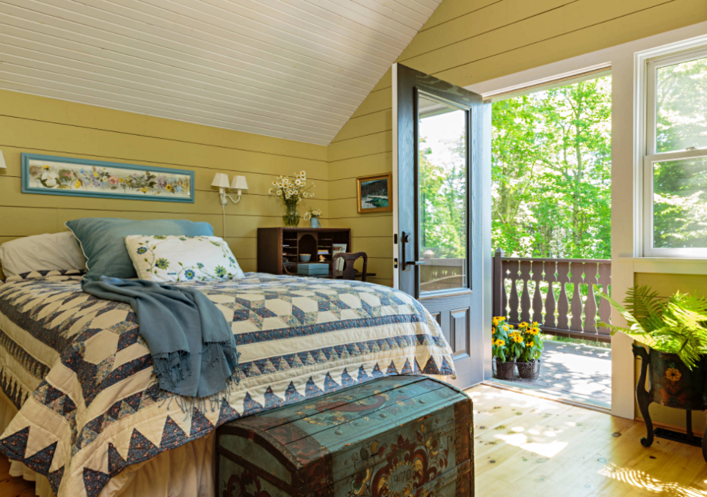Nordic Country Style Master Bedroom