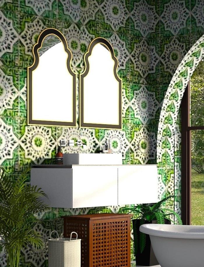 Green decor by Shabbyfufu