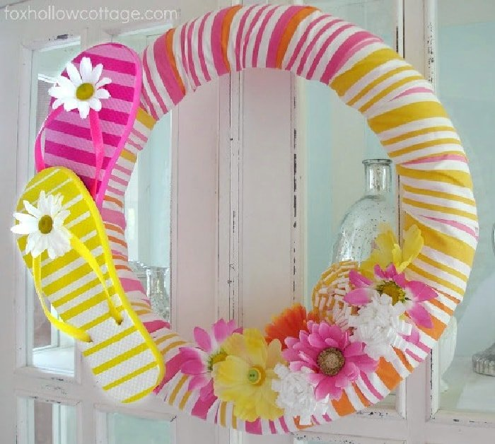 Summer Wreath by Fox Hollow Cottage