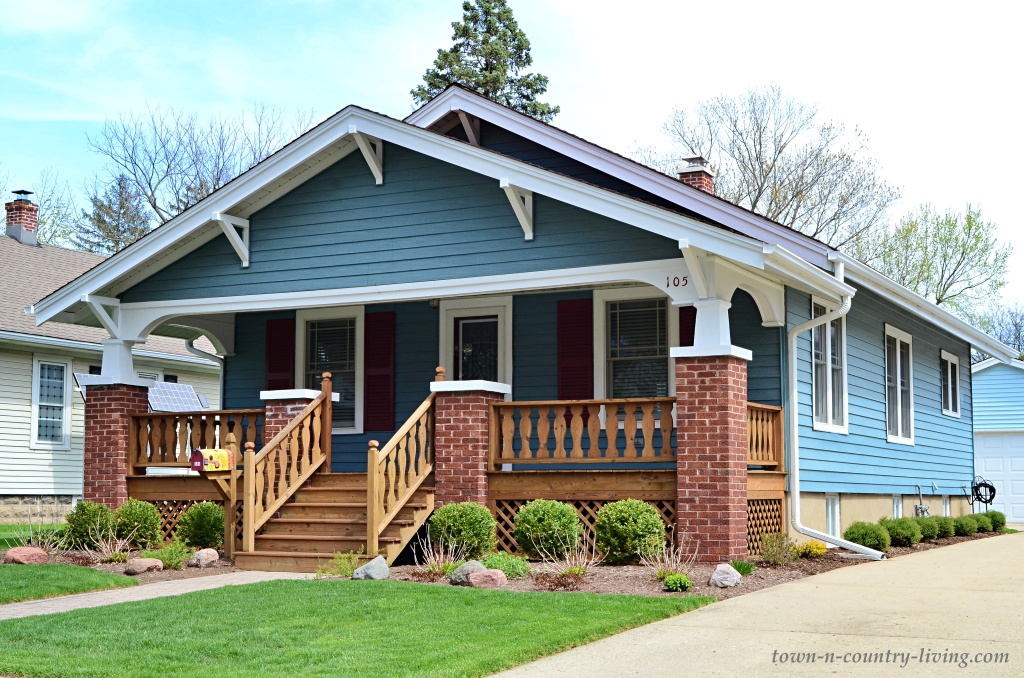 Beautiful Blue Bungalow with Large Porch