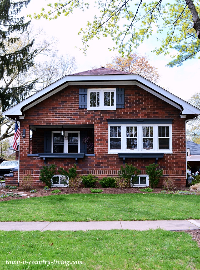Chicago Style Red Brick Bungalow