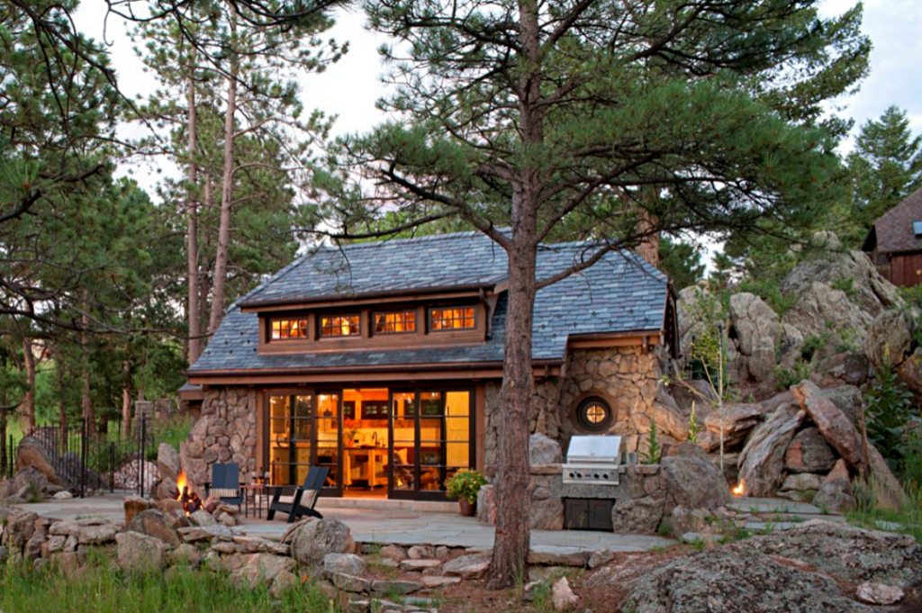Colorado Stone Cottage with Fire Pit and Outdoor Kitchen