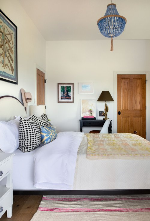 Texas Bedroom with Boho Chic Style