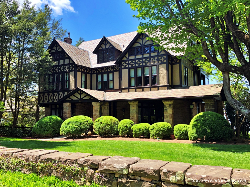 English Style Tudor Hillside Home on Lookout Mountain