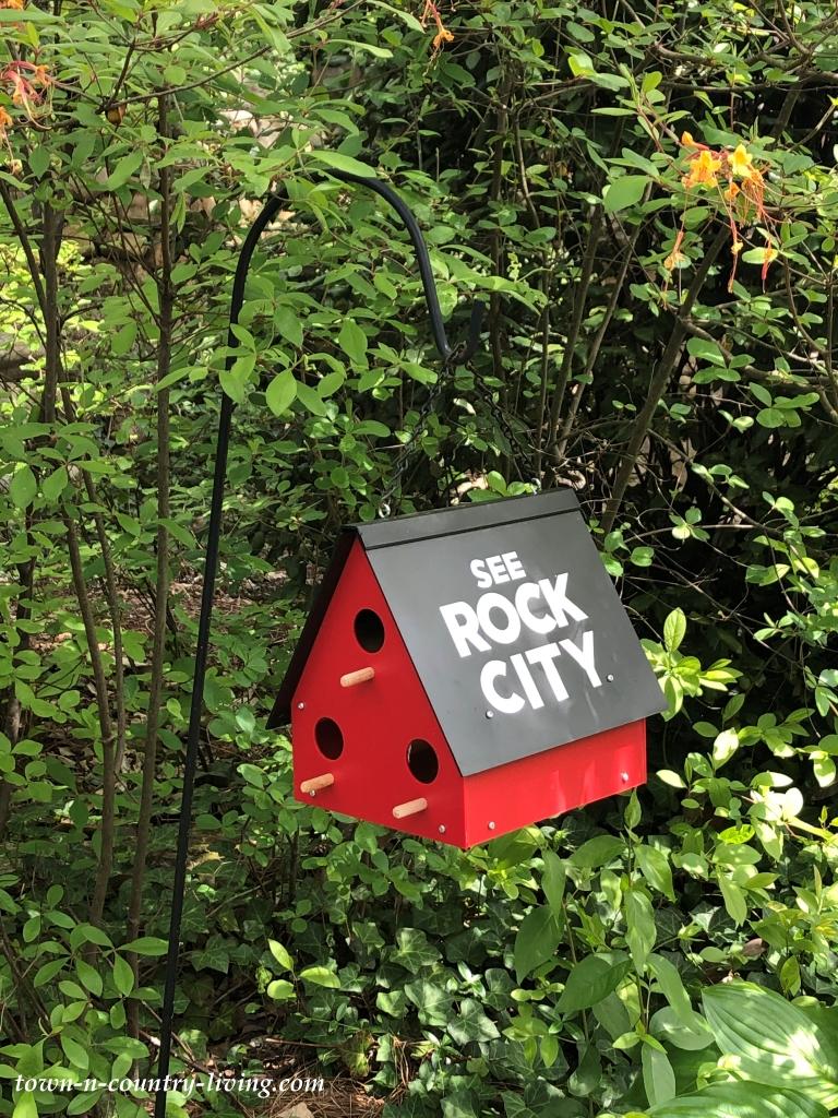 Rock City Georgia Birdhouse
