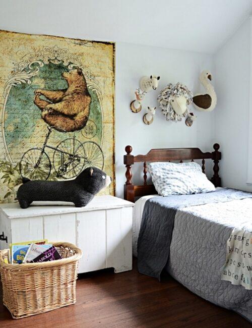 Boys Animal Bedroom