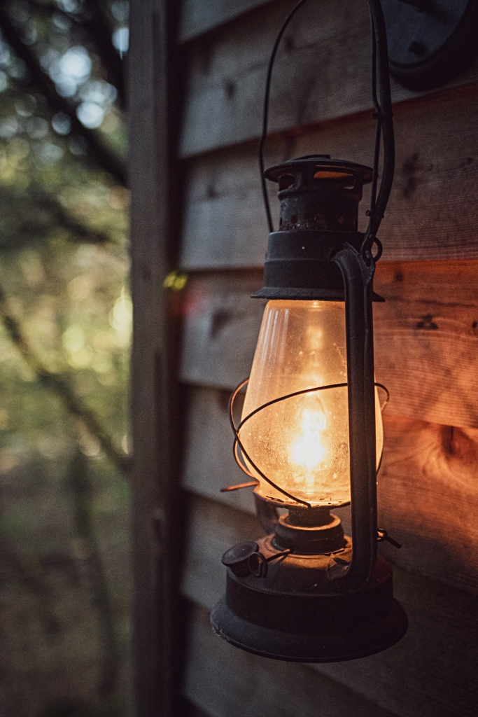 Camp Style Lantern for a Summer Evening
