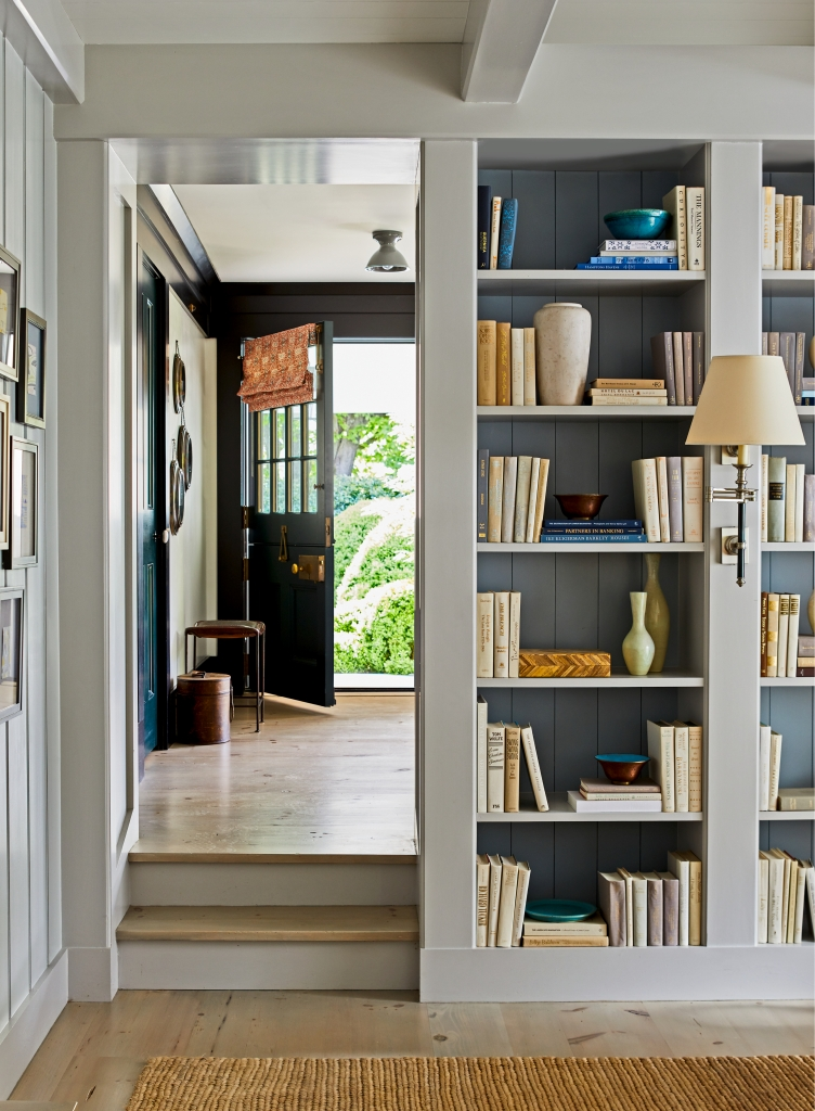Built-in Bookcase in Traditional home