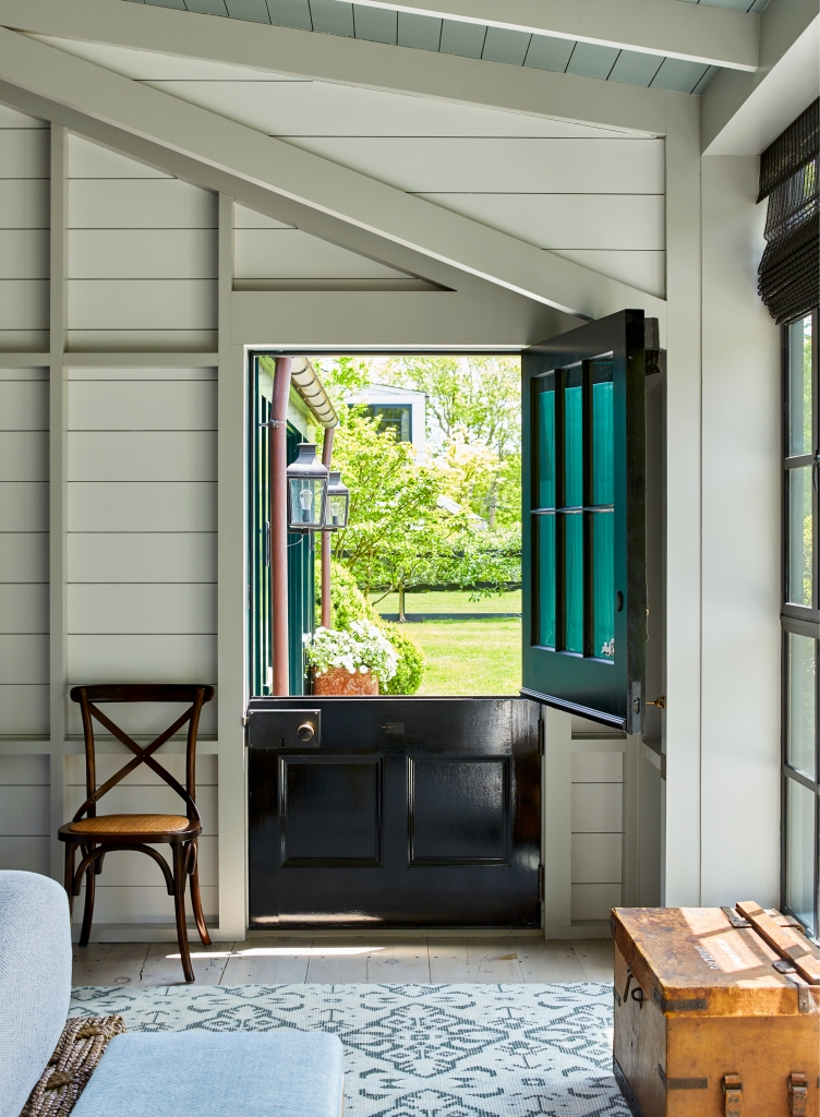 Dutch door in an historic home - Visions of Home book