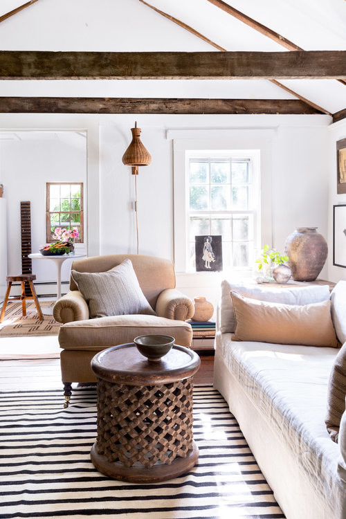Light and Airy Historic Living Room