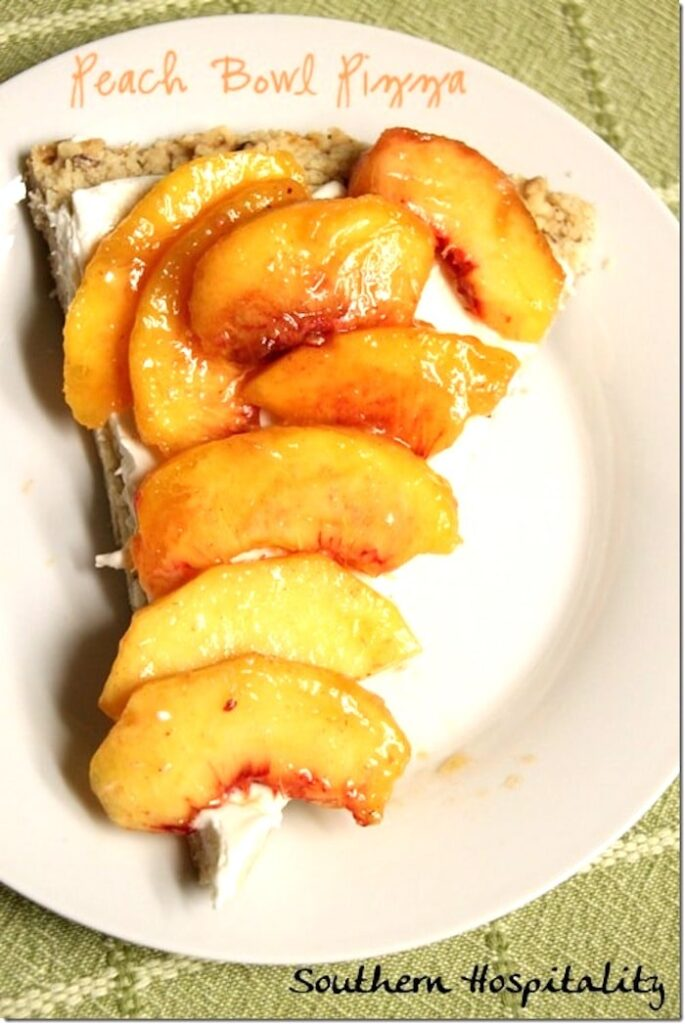 Peach Desserts by Southern Hospitality