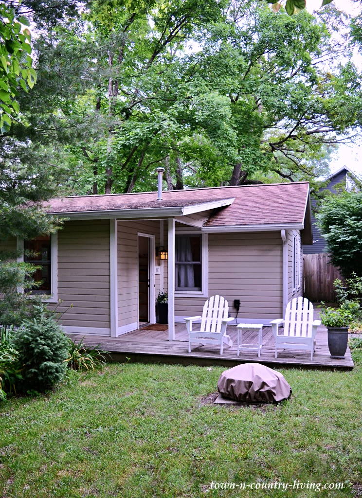 The Bird House in New Buffalo, Michigan