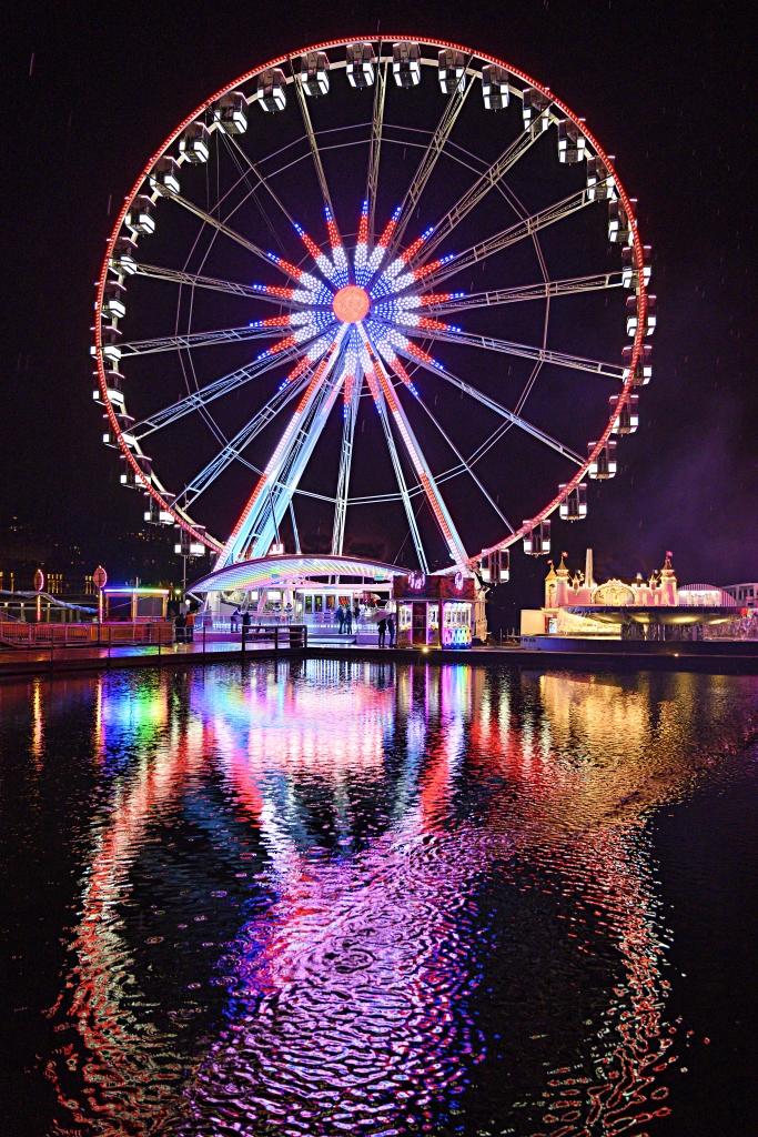 Nighttime at the Carnival - Ferris Wheel