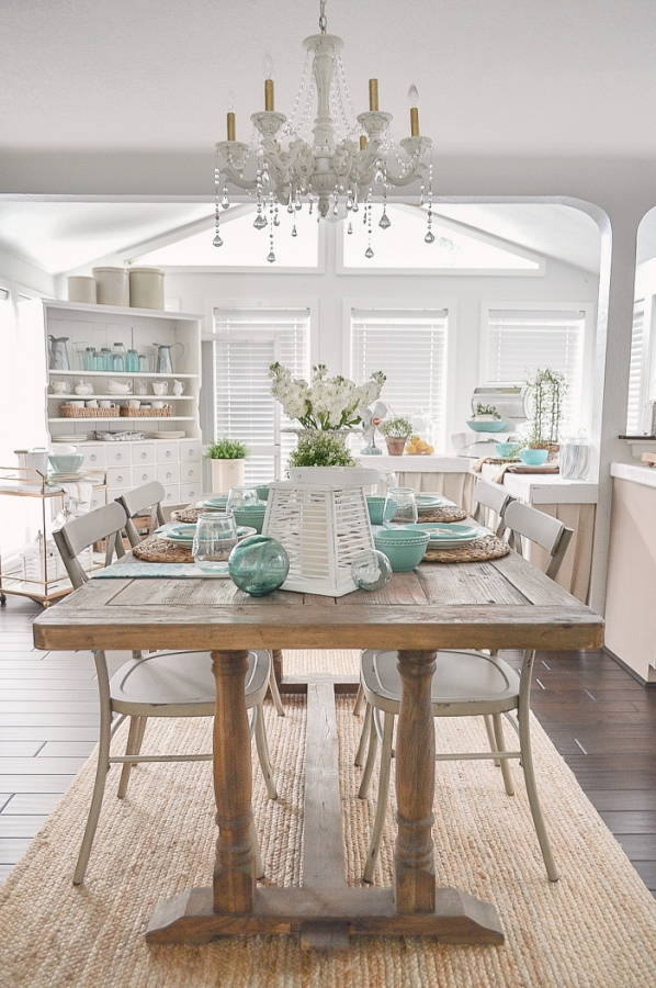 Summer Dining by Fox Hollow Cottage