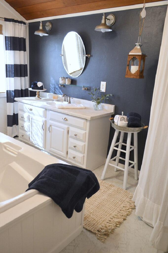 Bathroom by Fox Hollow Cottage