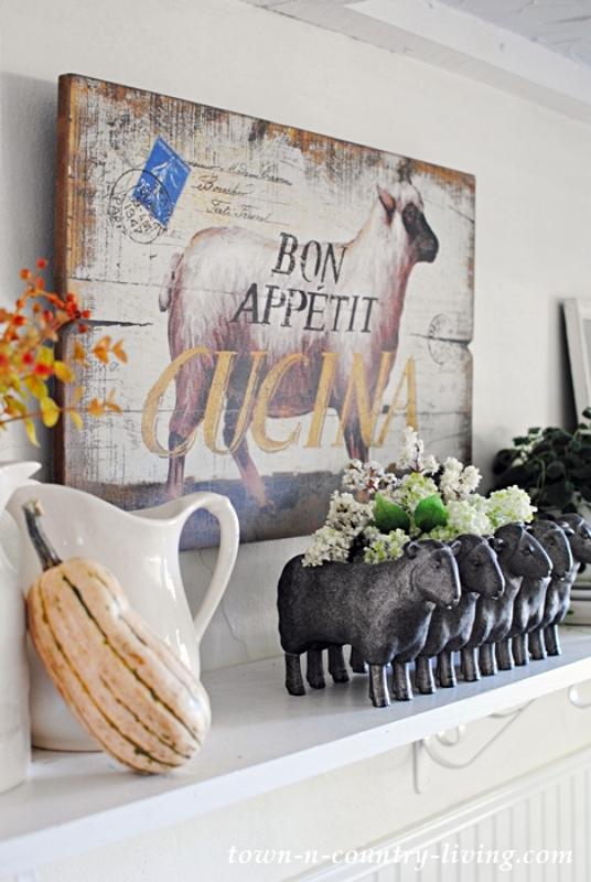 Bon Appetit Cucina Sheep Picture