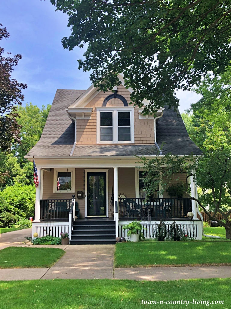 Victorian Style Cottage on a Tree-Lined Street