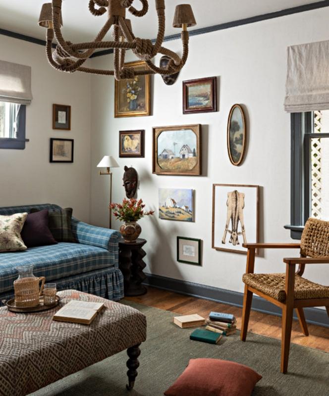 Historic Tudor Family Room