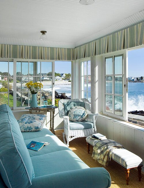 Sun Room with Ocean View