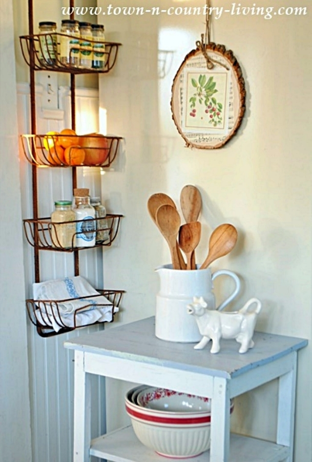 Kitchen Wall Basket for Storage