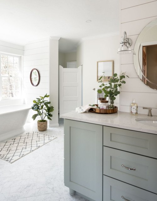 Dream Bathroom with Free Standing Tub