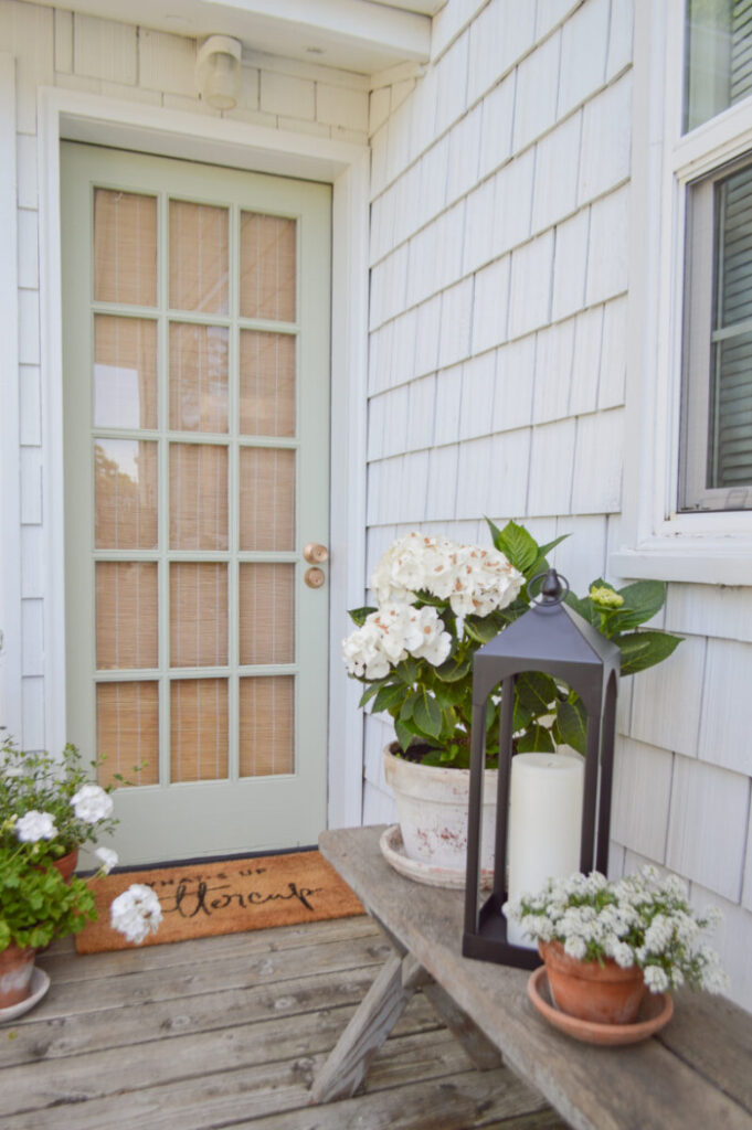Fox Hollow Cottage how to paint a door