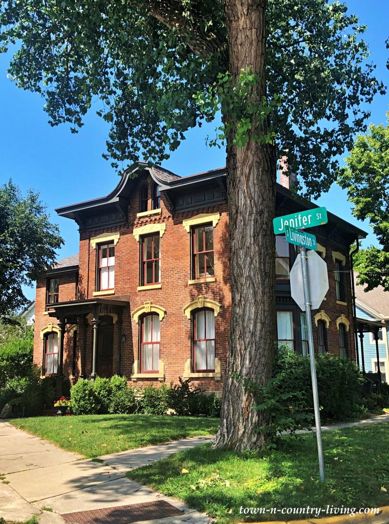 Historic Brick Home on the Corner of Jenifer Street
