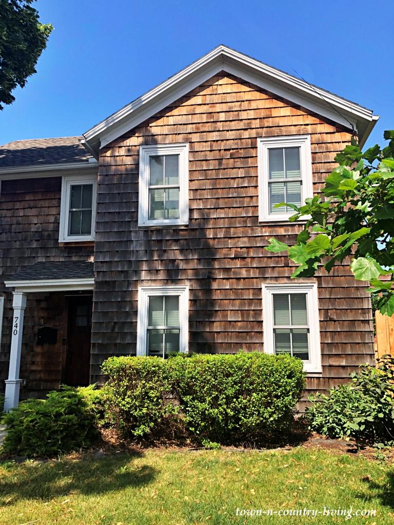 Brown Shingle Home