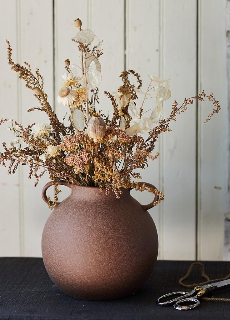 Dried Neutral Foliage Bouquet from Terrain