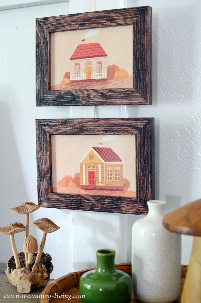Fall House Prints to Download and Frame