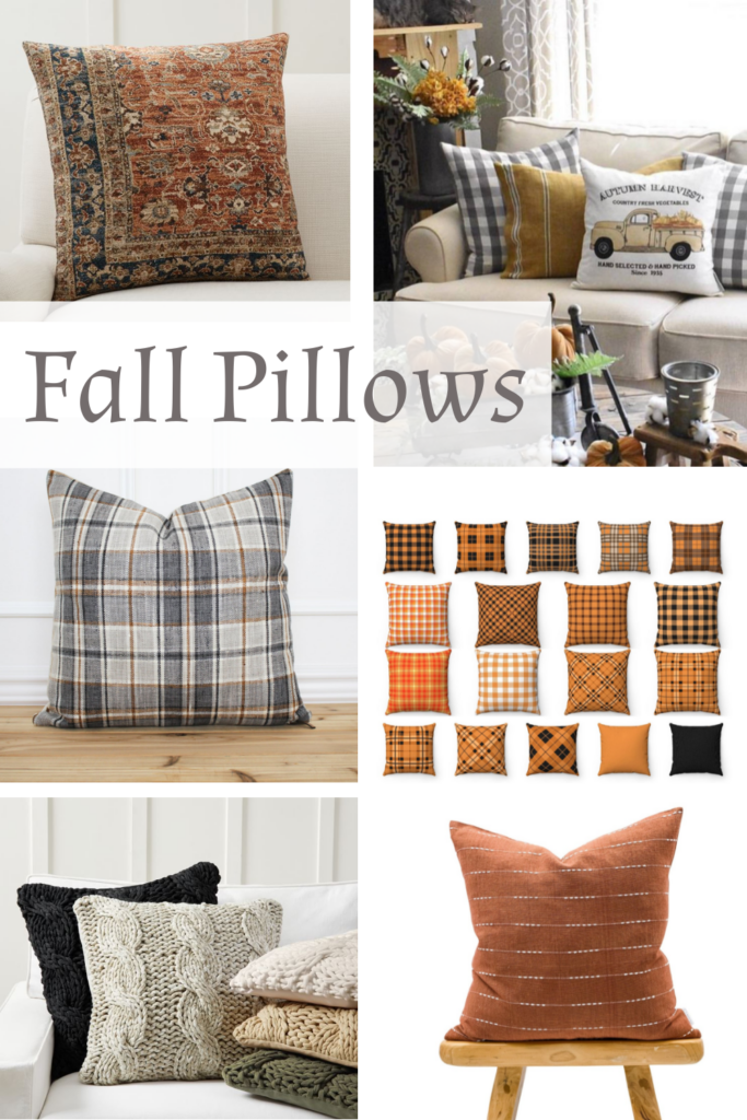 Where to Buy This Collection of Cozy Fall Pillows