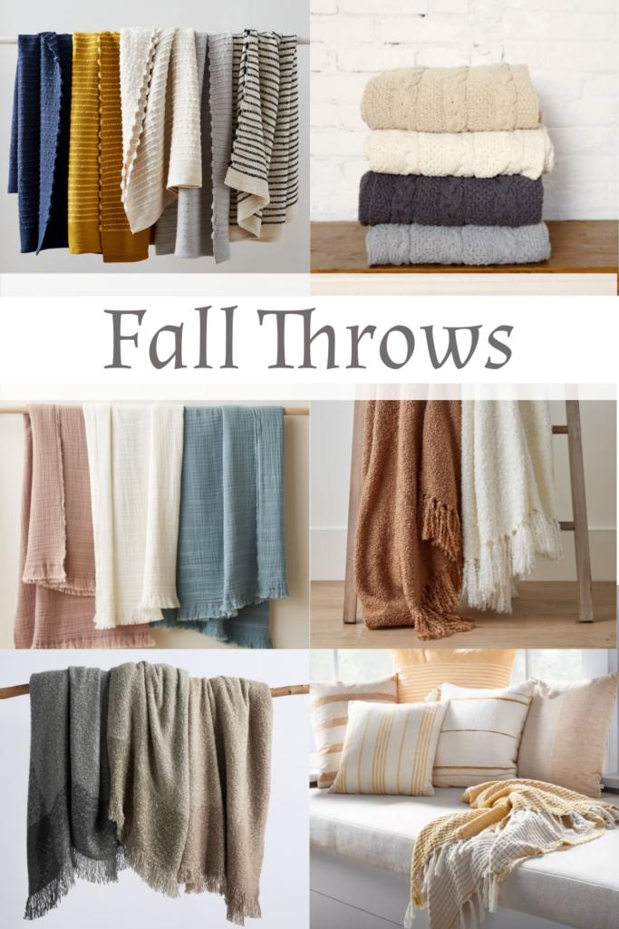 Cozy Throws for the Autumn Season