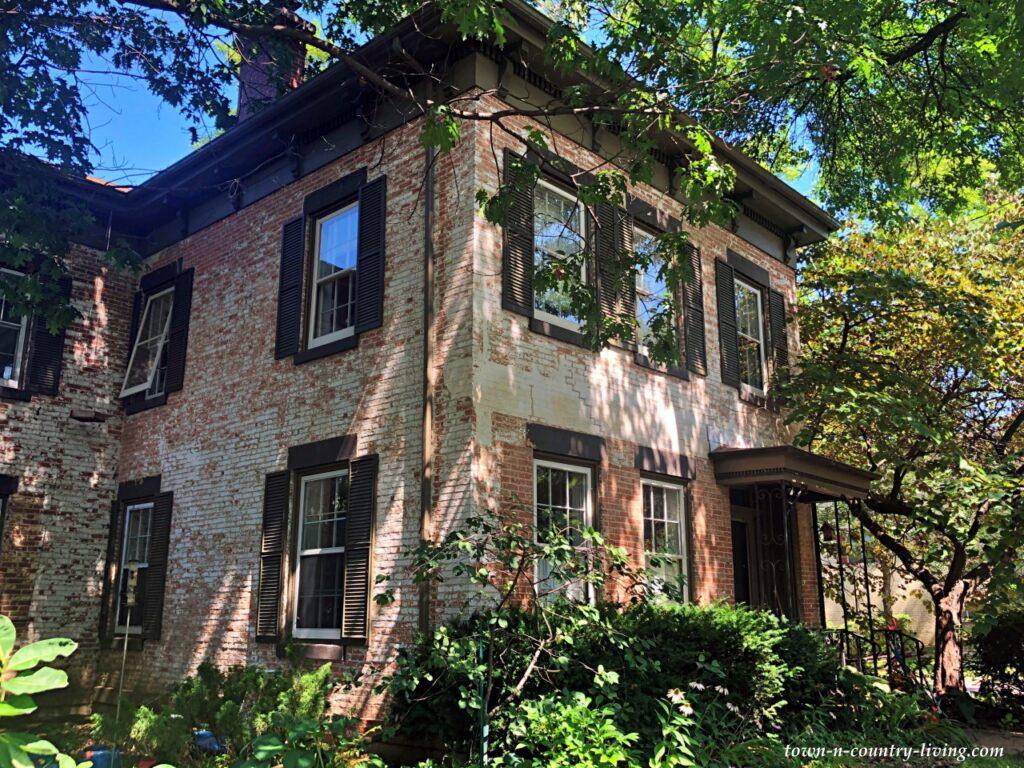 Beautiful Historic White Brick Home in Wisconsin