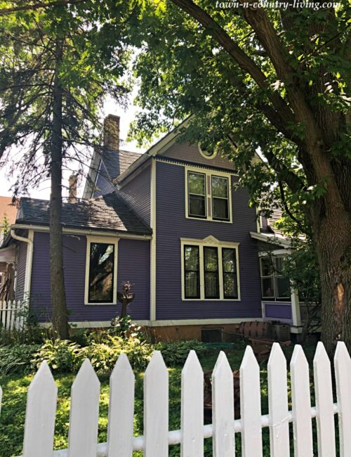 Historic District Homes - Purple Victorian in Madison, Wisconsin