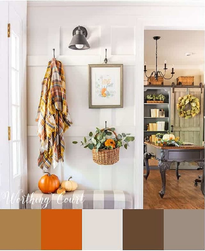 Worthing Court Fall Palette