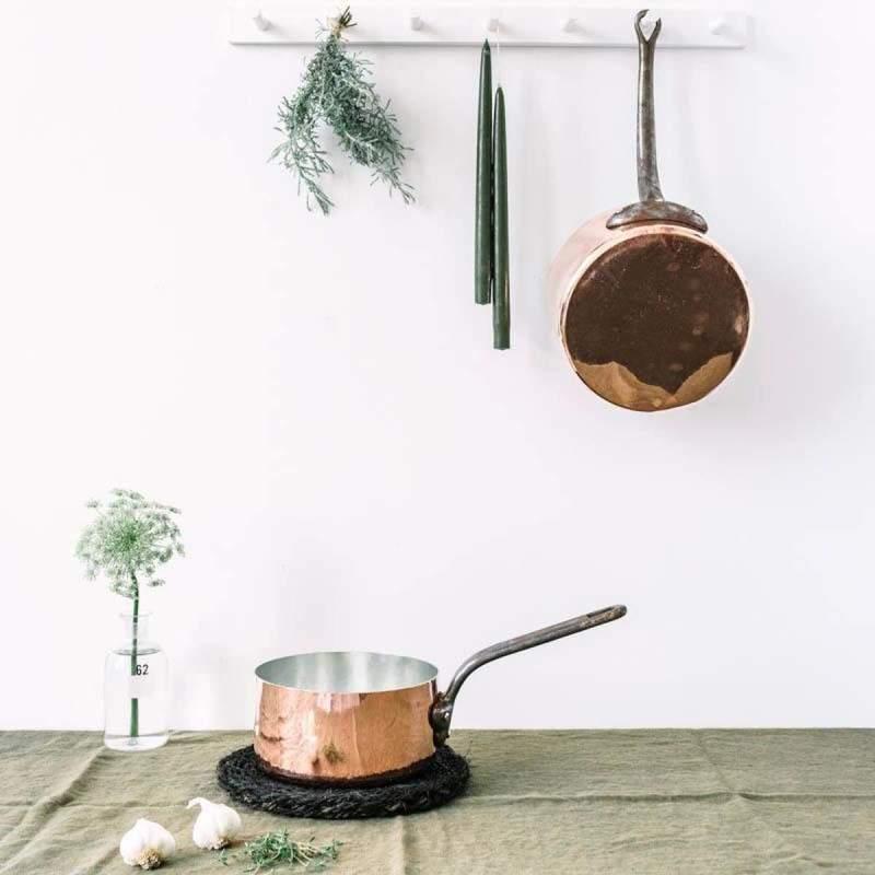Vintage Re-Tinned Copper Pots