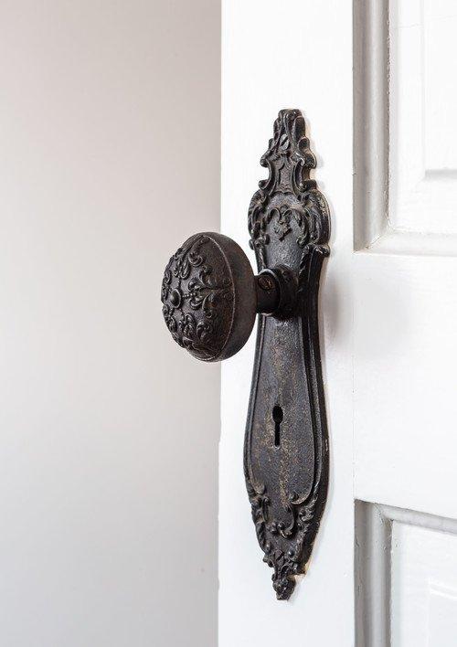 Vintage Metal Doorknob