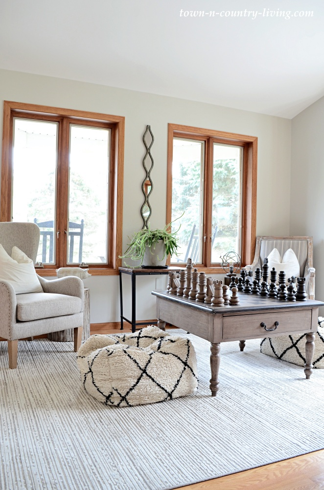 Chess Room in Wisconsin Home Vacation Rental