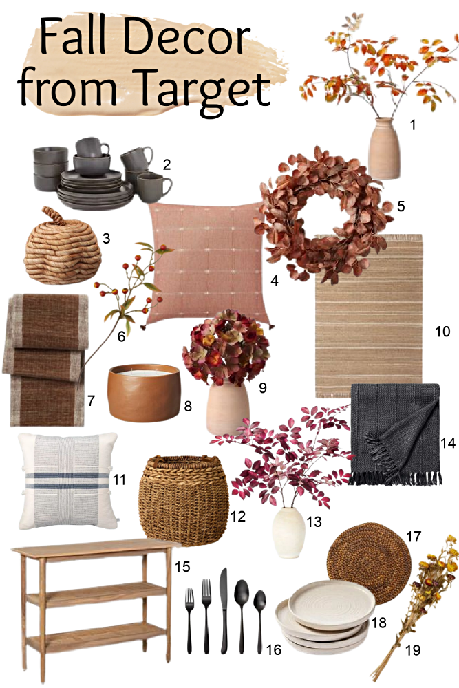 Affordable Fall Decor from Target