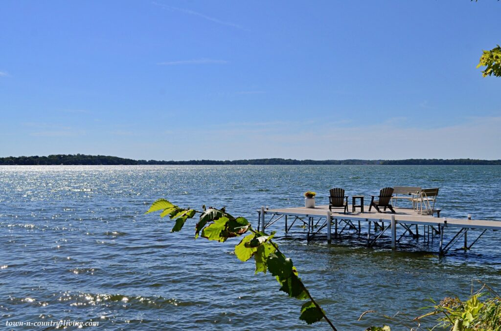 Lake Monona in Madison, Wisconsin