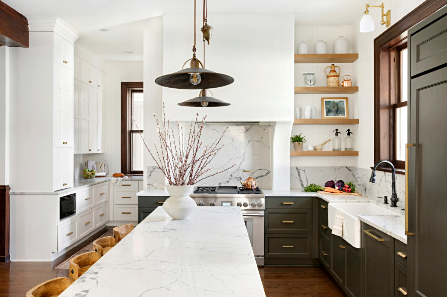 Beautiful kitchen renovation in historic home