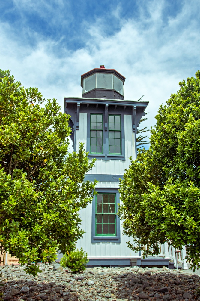 Table Bluff Lighthouse in Eureka California along the Pacific Ocean