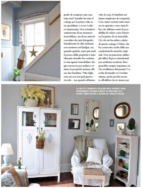 My Experience Being Published In An Italian Decor Magazine